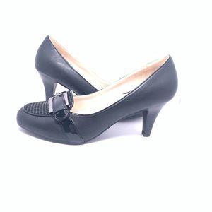 New-Madeline Black Heels